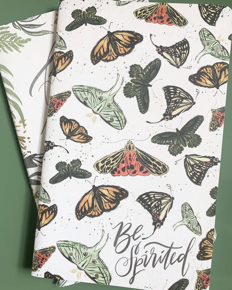 Primatives By Kathy monarch notebook set of 2