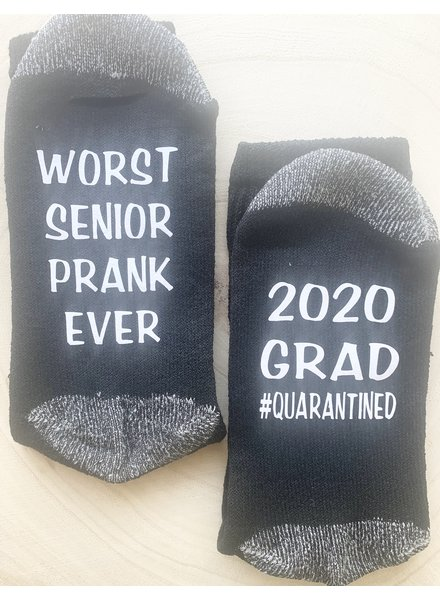 Craft Me That Worst Senior Year Prank Socks
