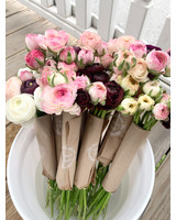 Longbourn Blooms Fresh Locally Grown Ranunculus Bunches-Assorted