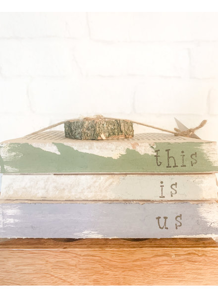 Dustin Yothers This is Us Book Stack