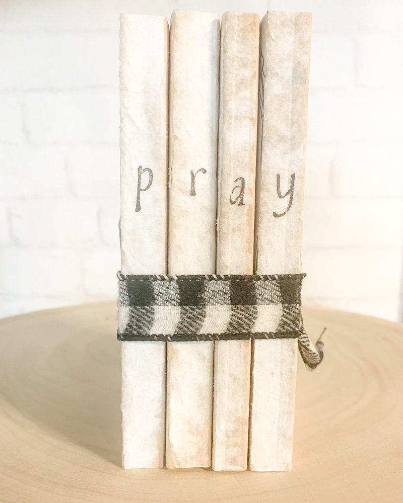 Dustin Yothers Pray Book Stack