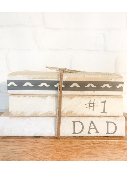 Dustin Yothers #1 Dad Book Stack
