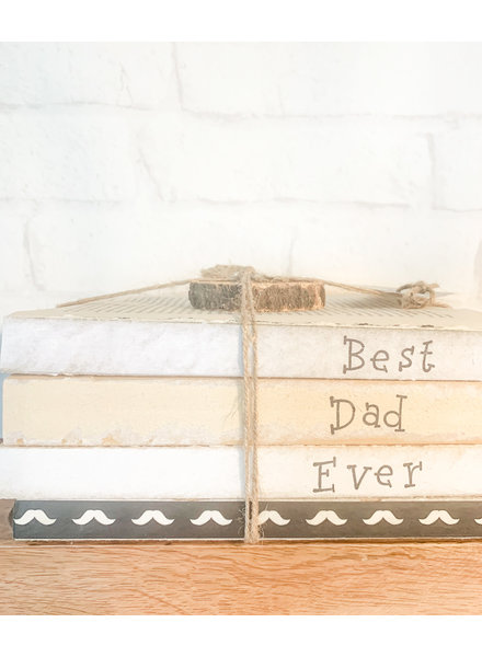 Dustin Yothers Best Dad Ever Book Stack