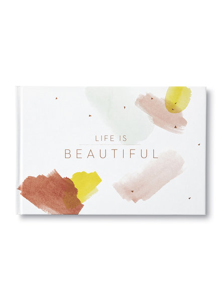 "Compendium Inc. ""Life Is Beauitful"" Coffee Table Book"