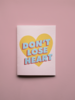 Mixtape Paper Co. Don't Lose Heart Card