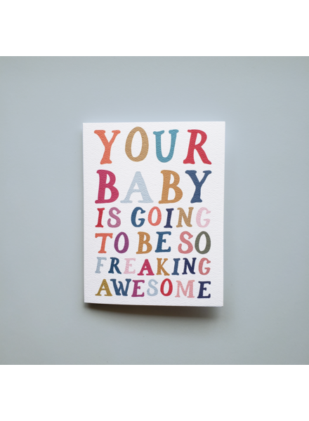 Mixtape Paper Co. Your Baby Card