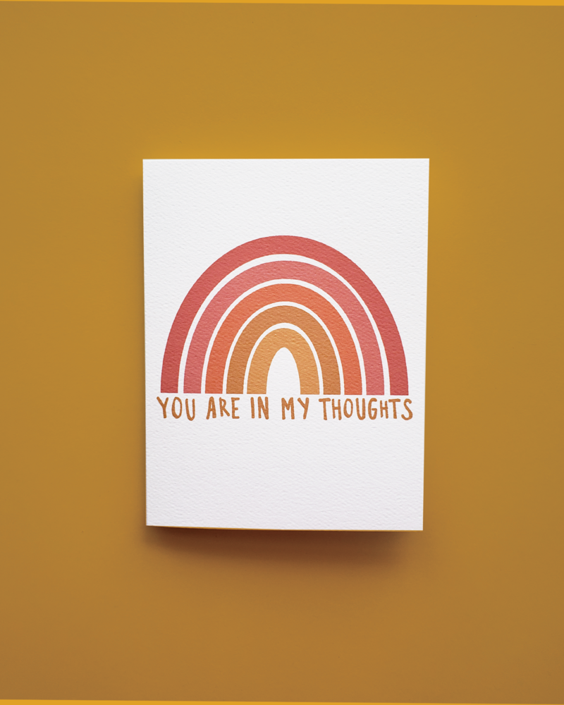 Mixtape Paper Co. You Are In My Thoughts Card