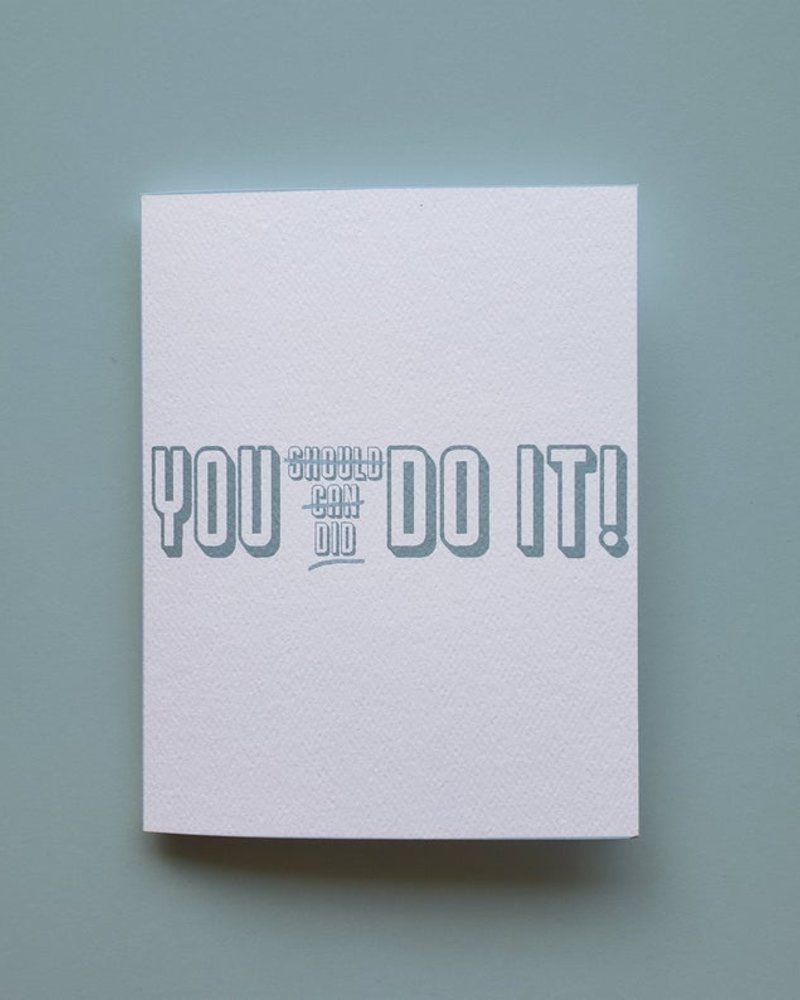 Mixtape Paper Co. You Did Do It Card