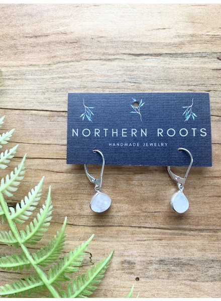 Northern Roots Rainbow Moonstone Earrings 2884