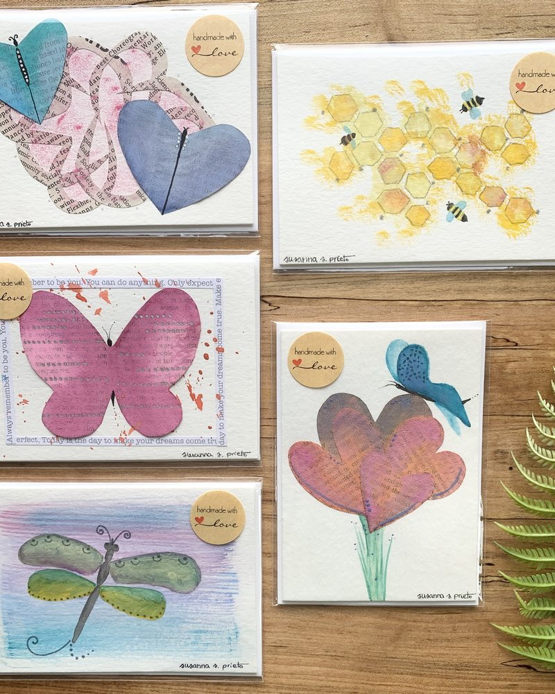 My Tiny Little Wings Cards Nature Design Handmade Cards