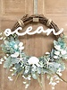 Balsam and Willow by Julie Star Fish Ocean Wreath