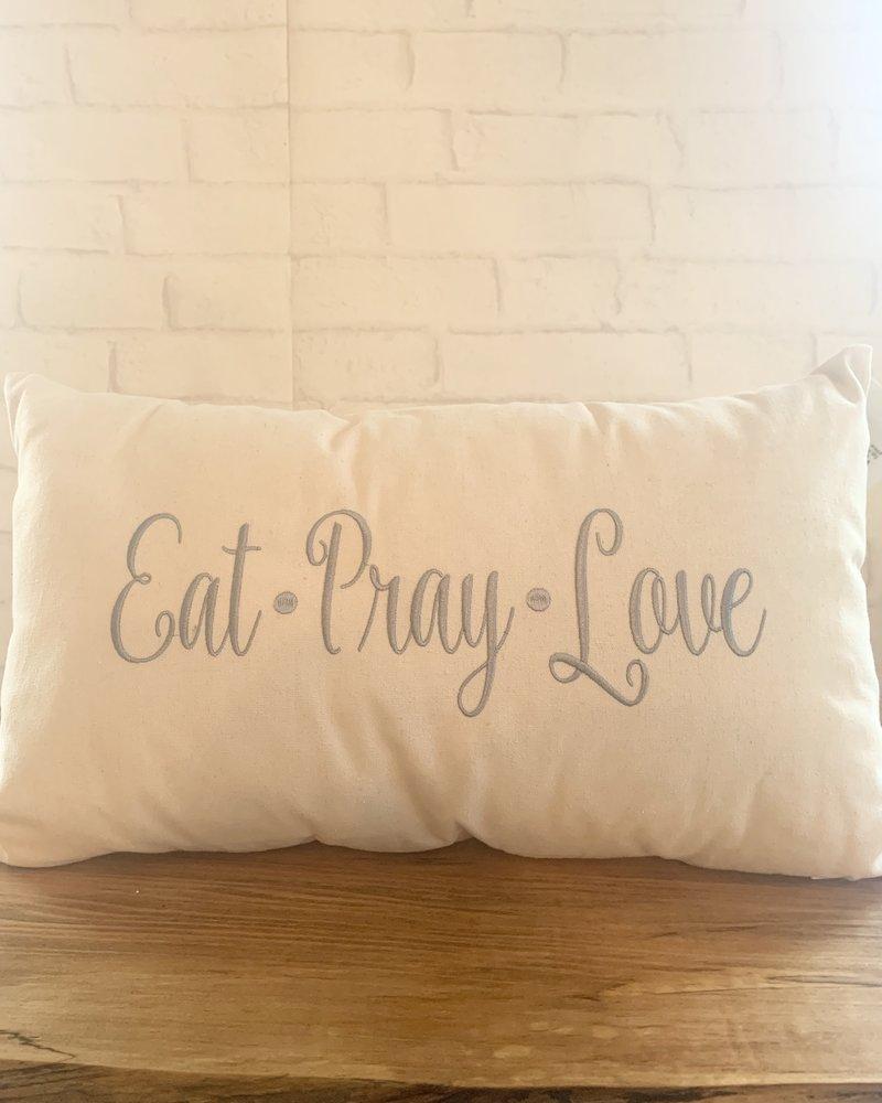 Eat.Pray.Love pillow