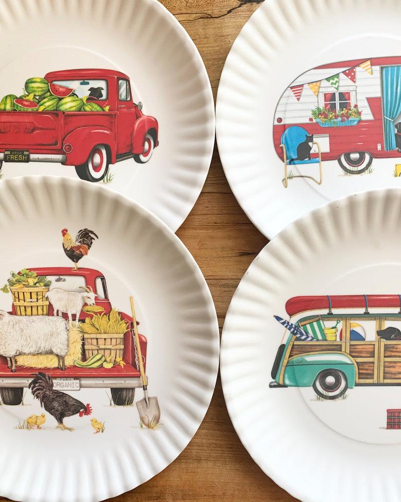Summer Melamine Plates