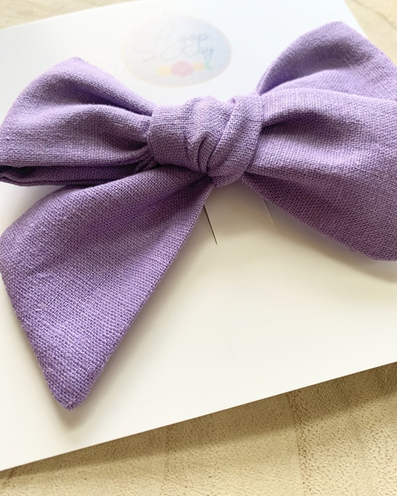 Hoop and Kay-Kasey Lombardo Hoop and Kay Handmade Children's Bows Solid Colors