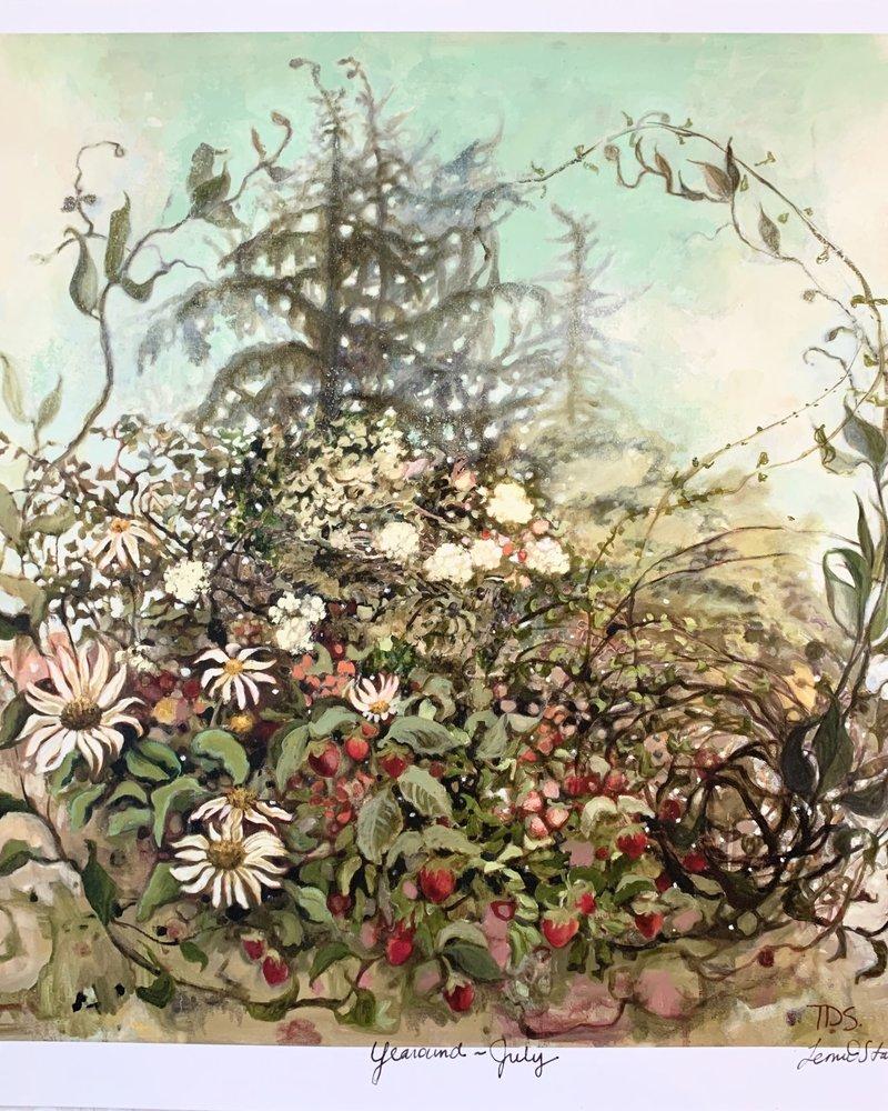 July Canvas By Temre Stanchfield