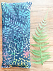 Aromatherapy Eye Pillow Summer Batik Print Eucalyptus and Peppermint