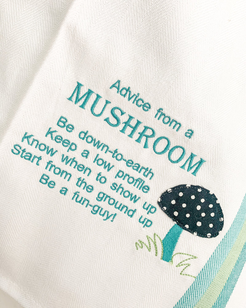 Advice from a Kitchen Towel