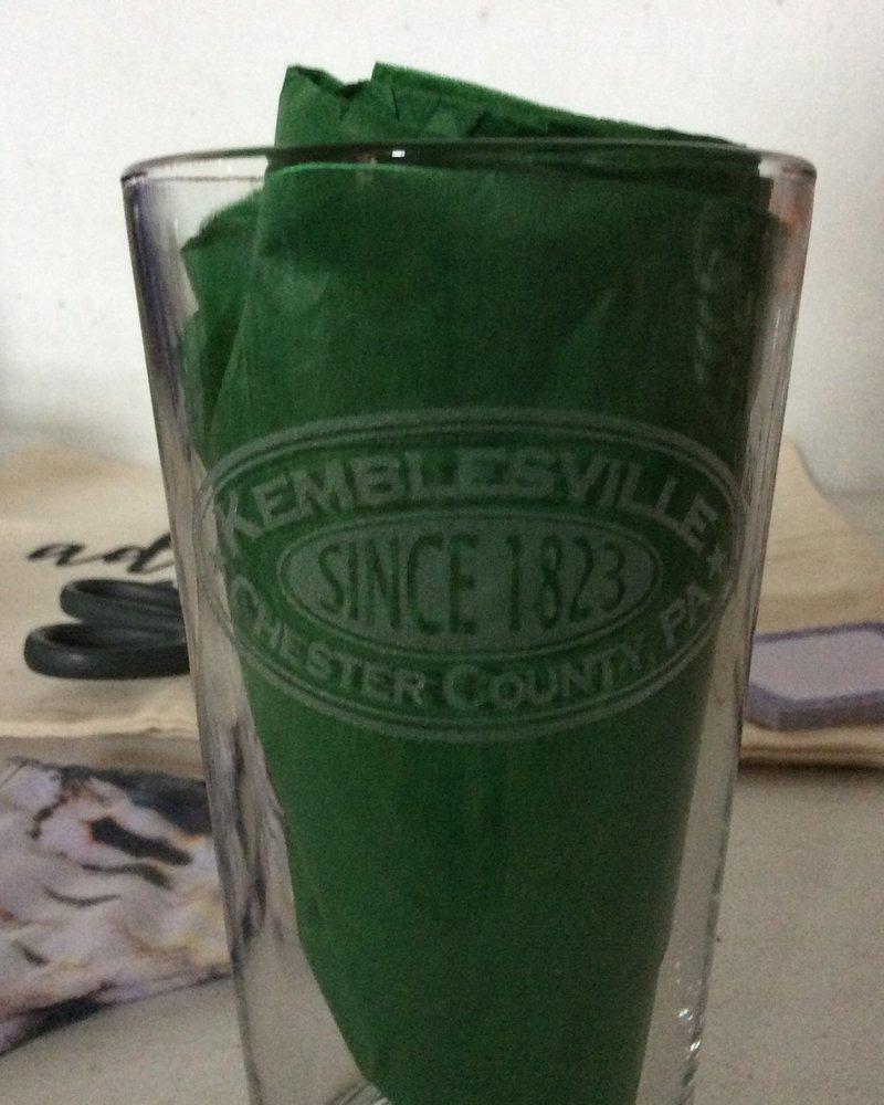 Kemblesville Pint Glasses
