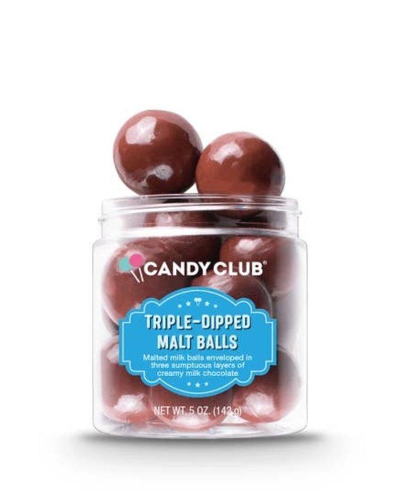 Candy Club Triple-Dipped Malt Balls
