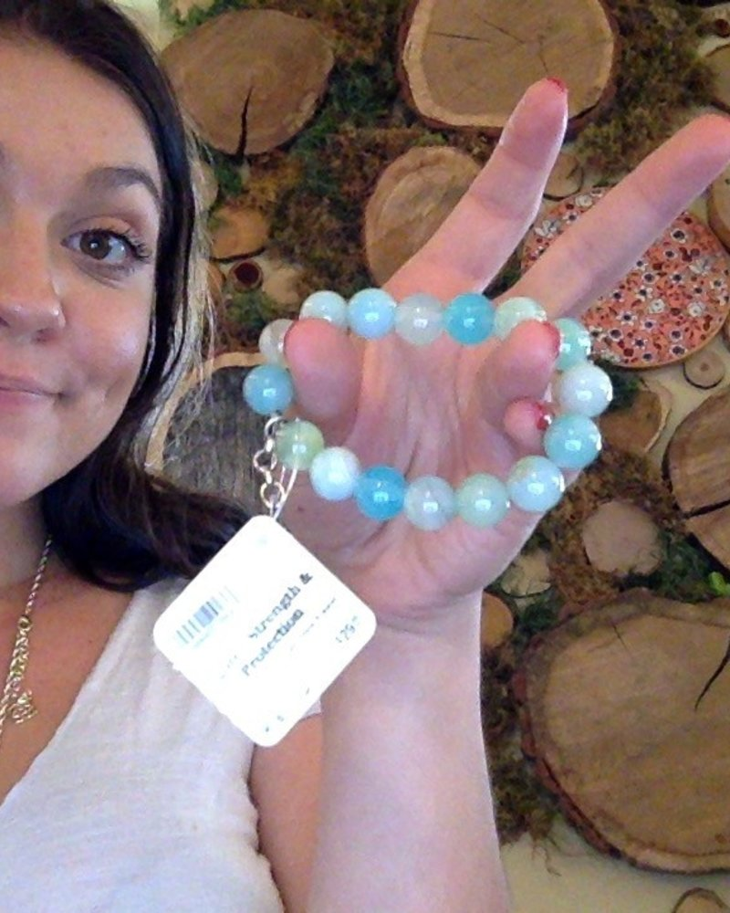 Bella Jade Gem Stone Bracelet