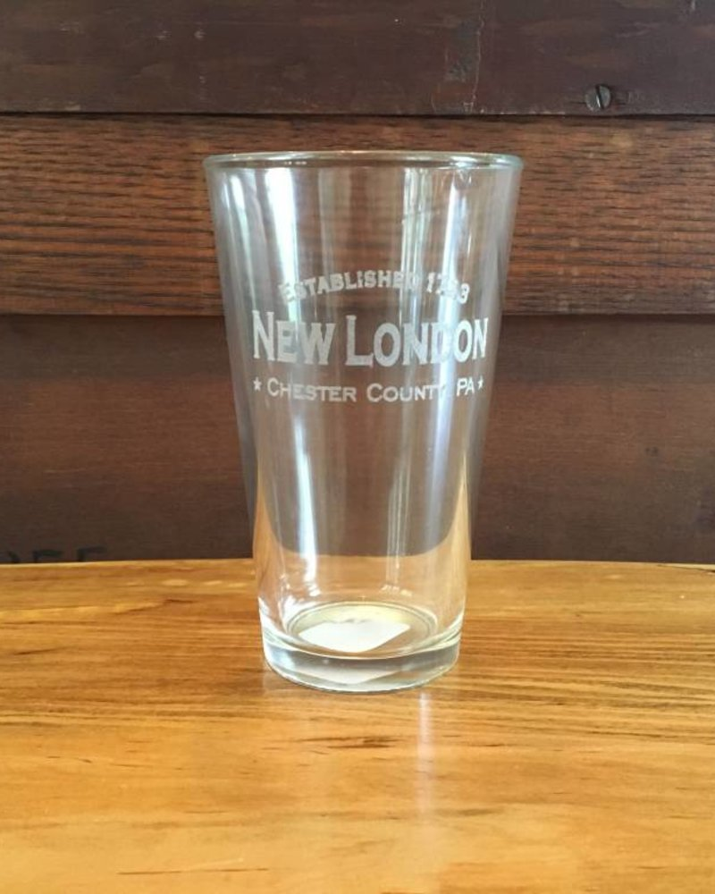 New London Pint Glasses