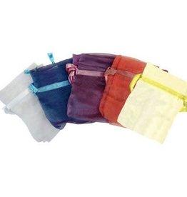 Kheops International Sheer Organza gemstone bag