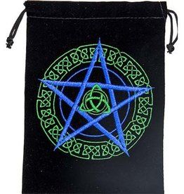 Kheops International Velvet embroidered pentacle bag 5_‰ÛÊåx7_‰ÛÊå