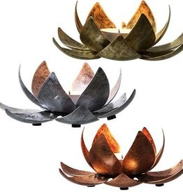 Kheops International Metal Lotus - Gold or Silver or Copper