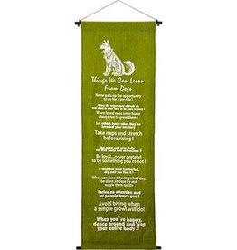 Kheops International Cotton Banner 16X48 - DOGS