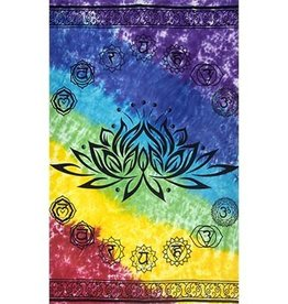 Kheops International Meditation Chakra Lotus Tapestry