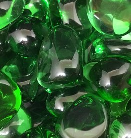 Nature's Expression Green Obsidian Tumbled Stone