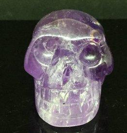 Nature's Expression Large Deep Purple Amethyst Crystal Skull