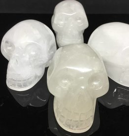 Village Originals Milky Quartz Crystal Skull