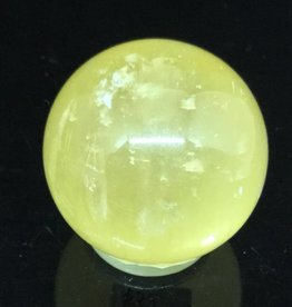 Nature's Expression Honey Calcite Sphere