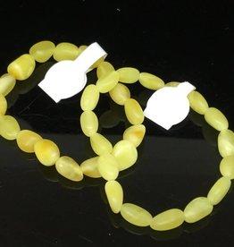 Amber Fine Arts Butter Amber Baby Elastic Bracelet