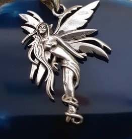 Distinctive by Design Silver Fairy Pendant