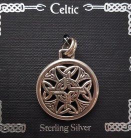 Distinctive by Design Celtic Silver Pendant