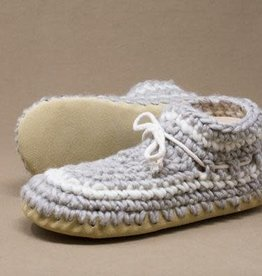 Padraig Cottage Ltd Ladies Large LL Padraig Wool Slippers, Sz 8.5 - 9.5