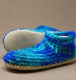 Padraig Cottage Ltd Ladies Small LS Padraig Wool Slippers, Sz 5.5-6.5