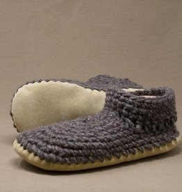 Padraig Cottage Ltd Mens Extra Large MXL Padraig Wool Slippers, Sz 12-13