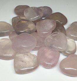 Family Rocks Rose Quartz Designer Hearts