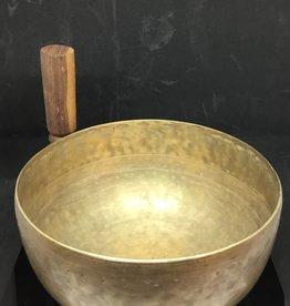 Desiree Designs Large plain thin hand hammered Tibetan Singing Bowl