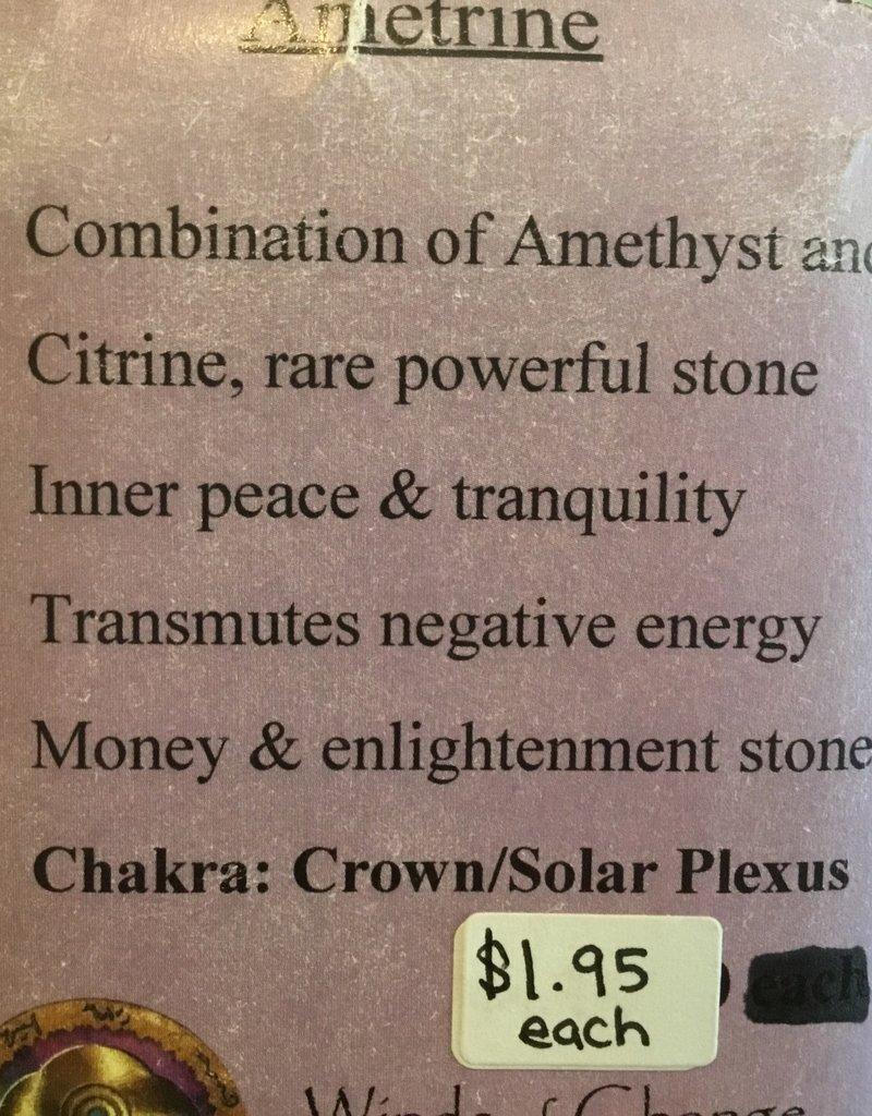 Family Rocks Ametrine Tumbled Stone