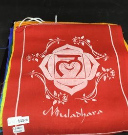 Nature's Expression Prayer Flag - Chakras