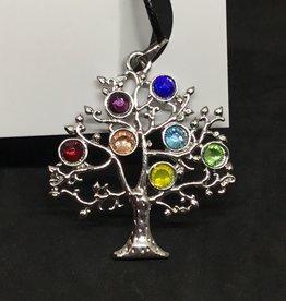 Kheops International Tree of Life Silver Pendant