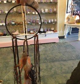 Monague Native Crafts Ltd. 6'' Dreamcatcher Dark Brown Fall