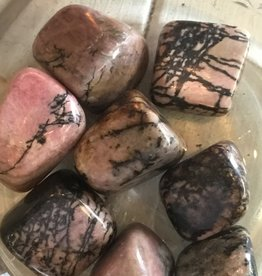 Nature's Expression Rhodonite Tumbled Stone Medium