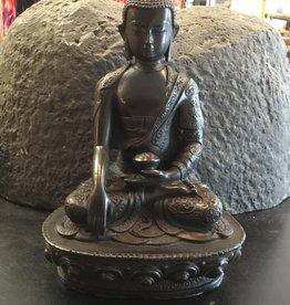 Desiree Designs Shakyamuni (medicine buddha) black 8 inch statue