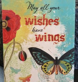 Leanin Tree/Don Fowler Distributors Wishes have Wings Birthday