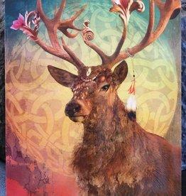 Leanin Tree/Don Fowler Distributors Totem Animal Deer Birthday